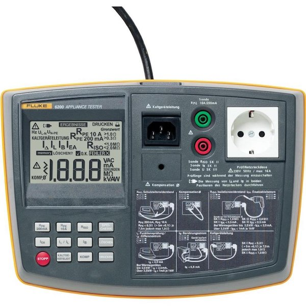 Fluke 6200-2 Apparatentester NEN 3140