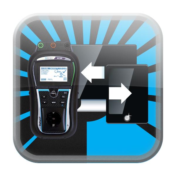 Metrel aPAT Android App Uitgebreid