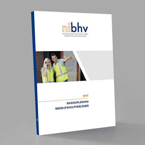 Cursus boek BHV Bedrijfshulpverlener van meetwinkel de leverancier van keurend en inspecterend nederland