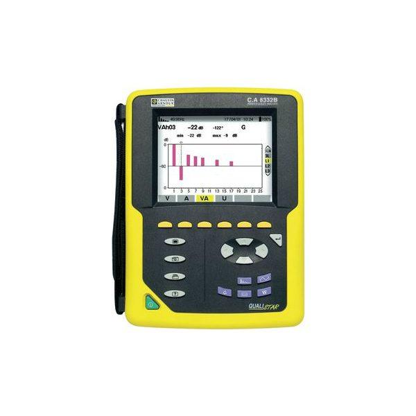De Chauvin Arnoux PQA 8332B is een top power quality analyses van meetwinkel de leverancier van keurend en inspecterend nederland
