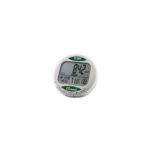 De Extech CO200 is een portable desktop CO2 meter van meetwinkel de leverancier van keurend en inspecterend nederland