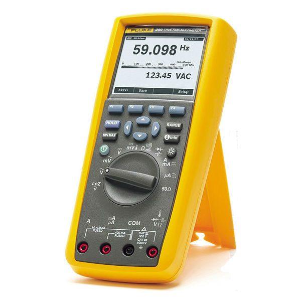 De Fluke 289 is een complete AC en DC Multimeter van Fluke en die koop je bij meetwinkel de leverancier van keurend en inspecterend nederland