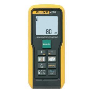 Fluke 419D is een nauwkeurige laser afstandsmeter van meetwinkel de leverancier van keurend en inspecterend nederland