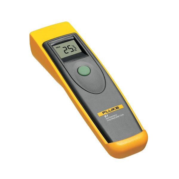 De Fluke 61 is een populaire laser thermometer van meetwinkel de leverancier van keurend en inspecterend nederland