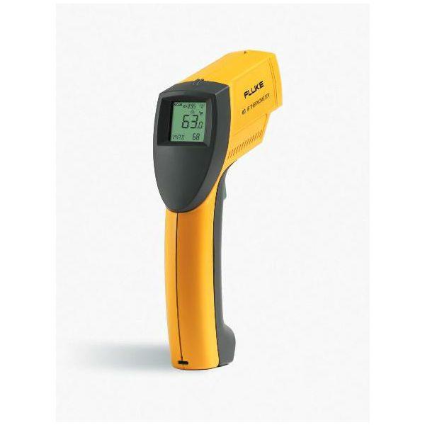 De Fluke 63 infrarood thermometer van meetwinkel de leverancier van keurend en inspecterend nederland