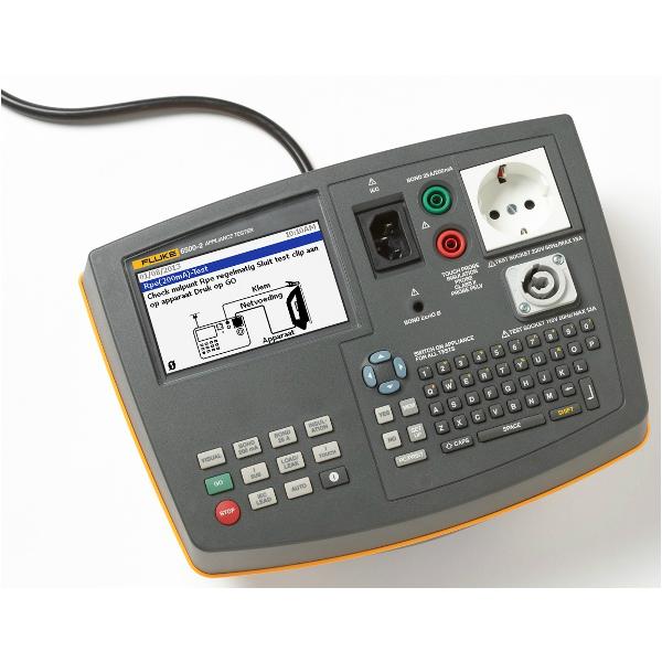 Fluke 6500-2 Apparatentester NEN 3140 met DMS software