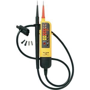 De Fluke T90 is de inspapper van Fluke qua spanningstesters en die koop je bij meetwinkel de leverancier van keurend en inspecterend nederland