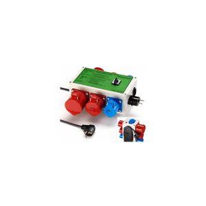 Gossen metrawatt VL2-E adapter voor NEN 3140 keuringen aan 16 en 32A machines van meetwinkel de leverancier van keurend en inspecterend nederland