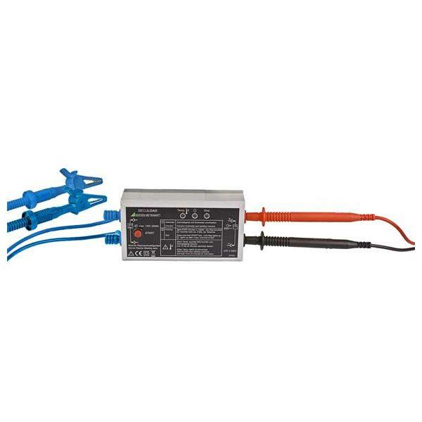Gossen Metrawatt secuload adapter voor het meten volgens NEN-EN-60974-4 van meetwinkel de leverancier van keurend en inspecterend nederland