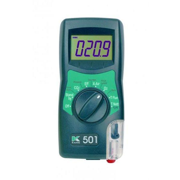 De Kane 501C is een instap rookgasmeter van meetwinkel de leverancier van keurend en inspecterend nederland