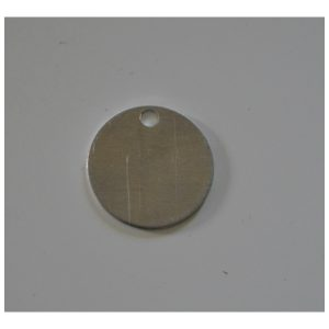 Aluminium labels voor identificatie van arbeidsmiddelen van meetwinkel de leverancier van keurend en inspecterend nederland