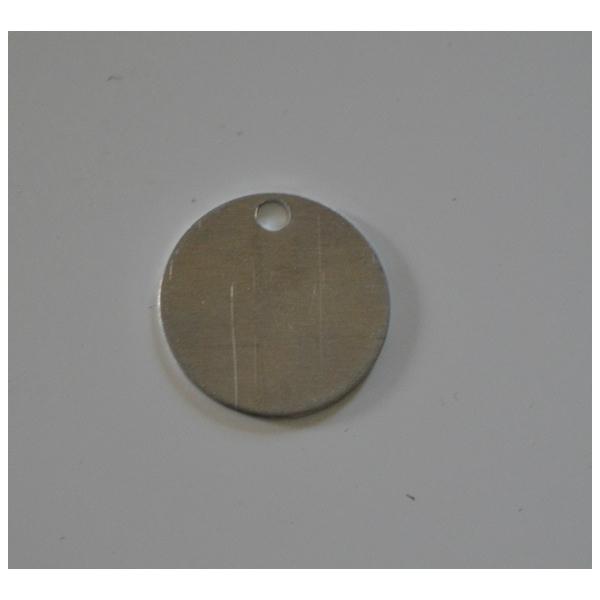 Aluminium identificatielabels (set 25 stuks)