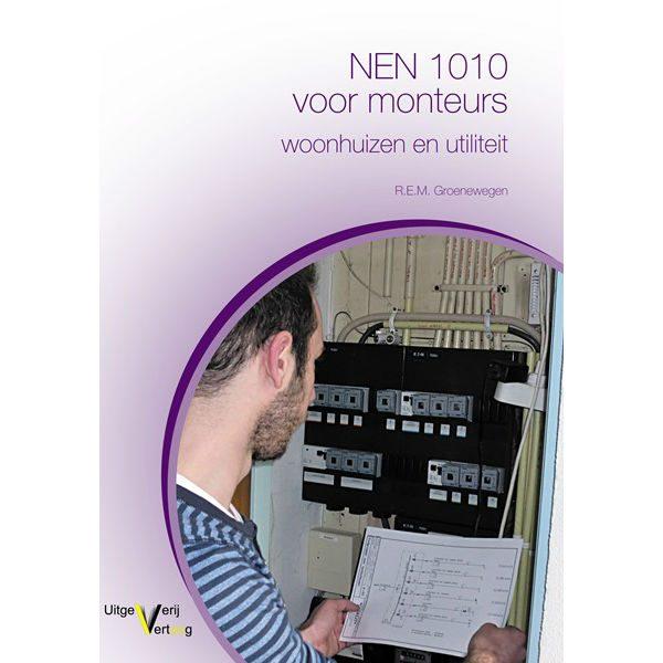 Boek NEN 1010 voor monteurs van meetwinkel de leverancier van keurend en inspecterend nederland
