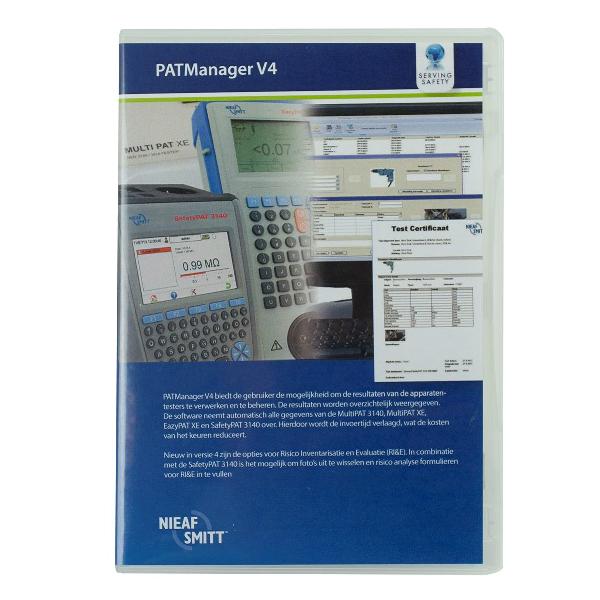 Nieaf-Smitt PAT-manager software V4 upgrade