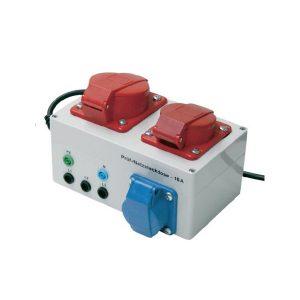 Metrel A1207 meetadapter voor NEn 3140 metingen voor 16 en 32 ampère van meetwinkel de leverancier van keurend en inspecterend nederland