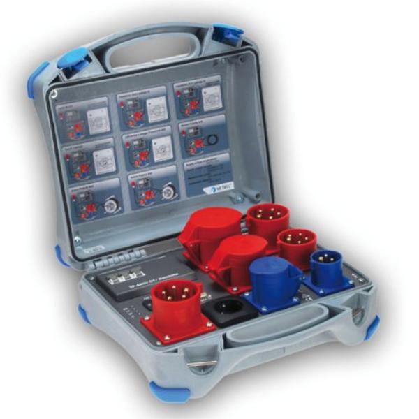 Metrel A1422 adapter voor actieve metingen aan elektrische arbeidsmiddelen en lasmachines van meetwinkel de leverancier van keurend en inspecterend nederland