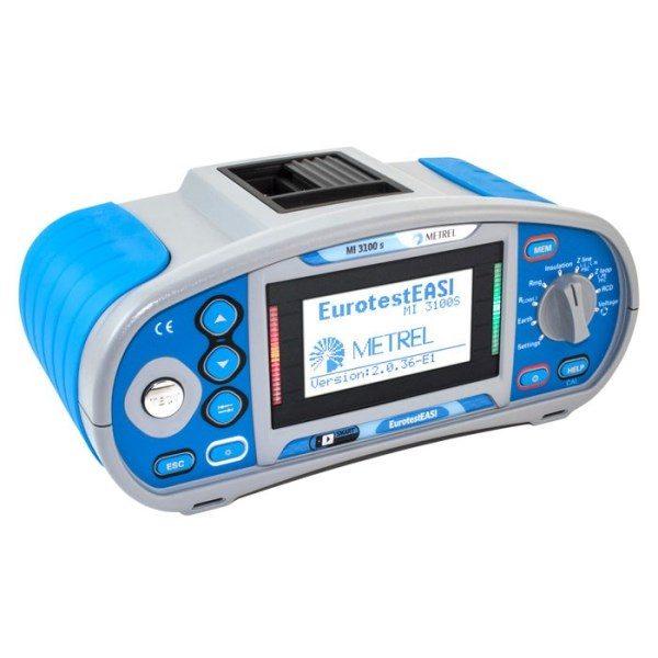 Metrel Eurotest EASI MI3100S is een instap installatietester met een goed eprijs kwaliteit verhouding van meetwinkel de leverancier van keurend en inspecterend nederland