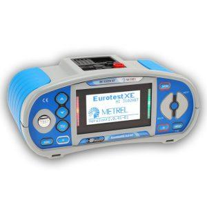 De Metrel MI 3102BT Eurotest Xe is een zeer complete NEN 1010 en NEN 3140 installatietster voorzien van een aardpennenset en basis software van meetwinkel de leverancier van keurend en inspecterend nederland