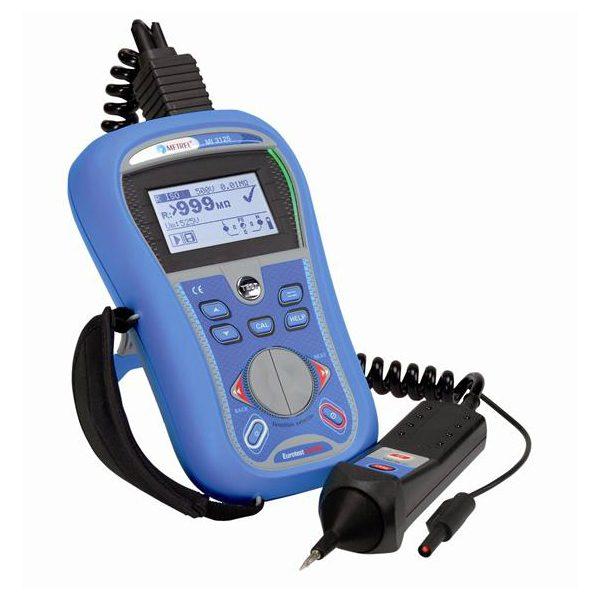 De Metrel MI3125B Eurotest combo is een effectieve en complete NEN 1010 en NEN 3140 installatietester van meetwinkel de leverancier van keurend en inspecterend nederland