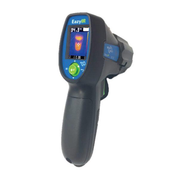 De Nieaf-Smitt EazyIR visuele thermometer is een goede middenweg tussen een thermometer en een thermografische camera van meetwinkel de leverancier van keurend en inspecterend nederland