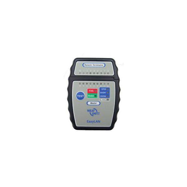 De Nieaf-Smitt Eazylan is een eenvoudige en portable Netwerk kabel tester en die koop je bij meetwinkel de leverancier van keurend en inspecterend nederland