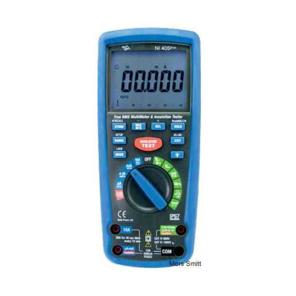 De Nieaf-Smitt NI4150 is een multimeter gecombineerd met een isolatie meter en die koop je bij meetwinkel de leverancier van keurend en inspecterend nederland