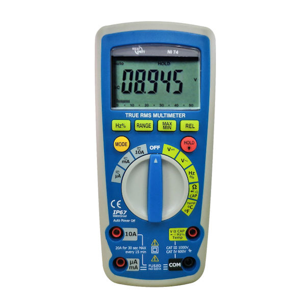 Nieaf-Smitt NI 74 True RMS Multimeter
