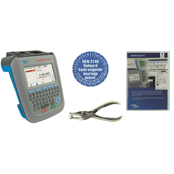Nieaf-Smitt Safetypat 3140 Startkit inclusief PAT-manager software
