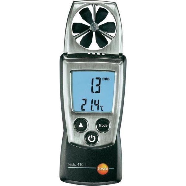 Testo 410-1 Vleugelrad anemometer van meetwinkel de leverancier van keurend en inspecterend nederland