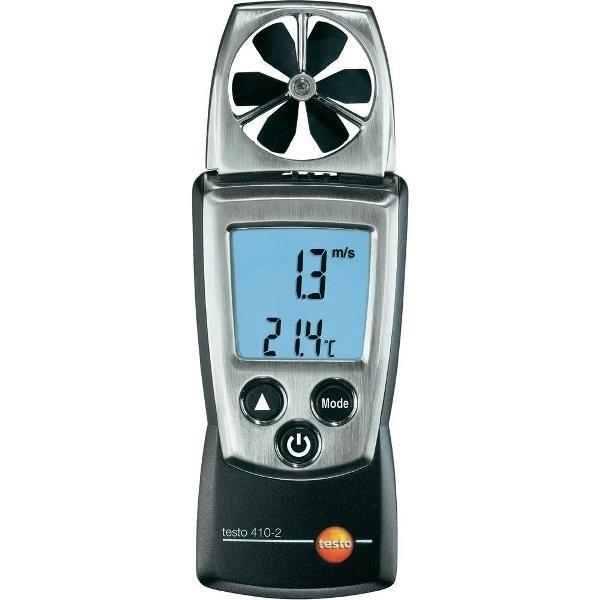 De Testo 410-2 vleugelrad anemometer van meetwinkel de leverancier van keurend en inspecterend nederland