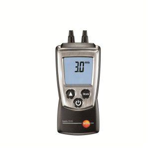 De Testo 510 is een praktische verschildrukmeter van meetwinkel de leverancier van keurend en inspecterend nederland