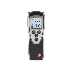 De Testo 922 is een praktische digitale temperatuurmeter van meetwinkel de leverancier van keurend en inspecterend nederland