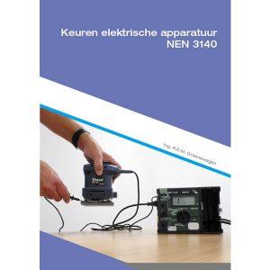 Boek keuren van elektrische arbeidsmiddelen van meetwinkel de leverancier van keurend en inspecterend nederland