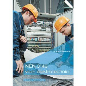 Boek over de NEN 3140 voor elektrotechnici van meetwinkel de leverancier van keurend en inspecterend nederland