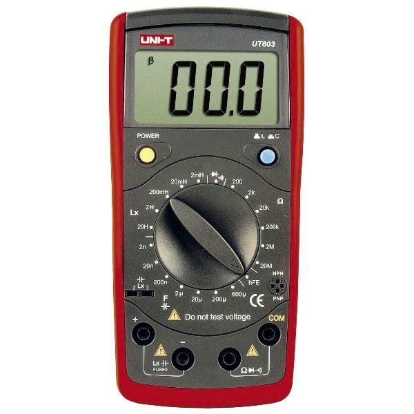 De UNI-T UT 603 LCR meter koop je bij meetwinkel de leverancier van keurend en inspecterend nederland