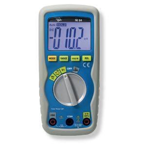 De Nieaf-Smitt NI64 multimeter is een nieuwe en compacte digitale multimeter en die koop je bij meetwinkel de leverancier van keurend en inspecterend nederland
