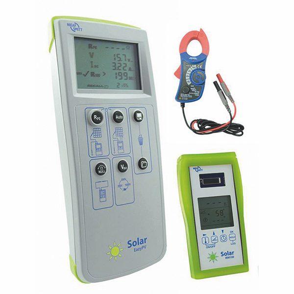 De Nieaf-Smitt Eazypv kit is een complete set voor het inspecteren en opleveren van PV installaties van meetwinkel de leverancier van keurend en inspecterend nederland