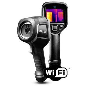 De Flir E5XT is de nieuwe thermografische camera van Flir van meetwinkel de leverancier van keurend en inspecterend nederland