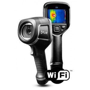 De FlirE6XT Wifi is de nieuwe thermografische camera van Flir van meetwinkel de leverancier van keurend en inspecterend nederland