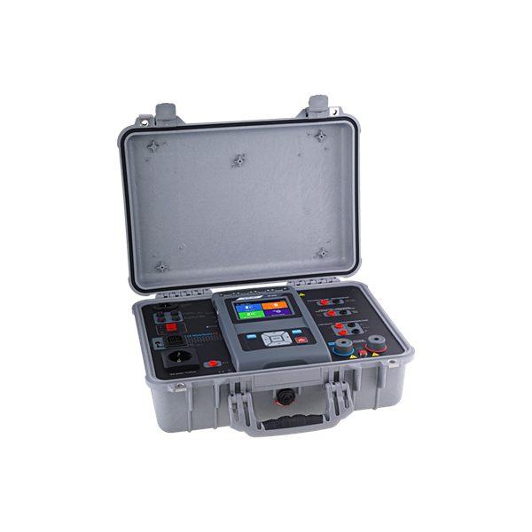 De Metrel MI3394EU is de meest complete machinetester op de Nederlandse markt van meetwinkel de leverancier van keurend en inspecterend nederland