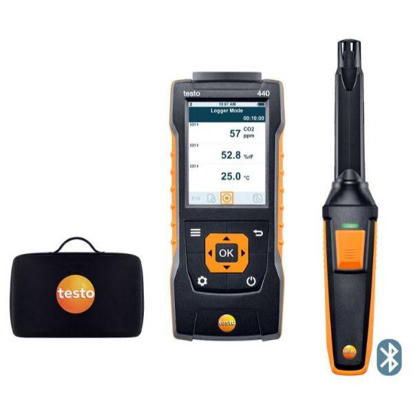 Testo 440 vocht-set met Bluetooth