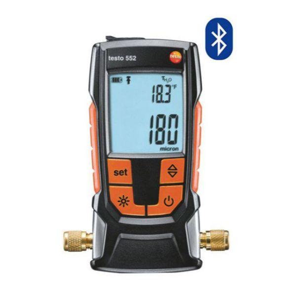 Testo 552 - digitale vacuümmeter met Bluetooth