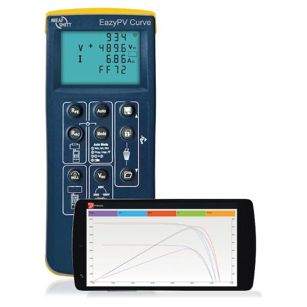 Nieaf-Smitt EazyPV Curve Solar en PV tester