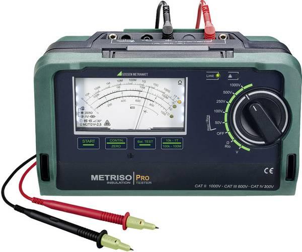 Metriso PRO Isolatieweerstandsmeter 1000V