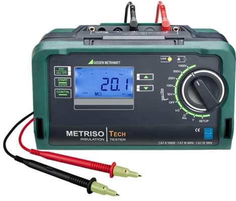 Metriso TECH Isolatieweerstandsmeter 1000V