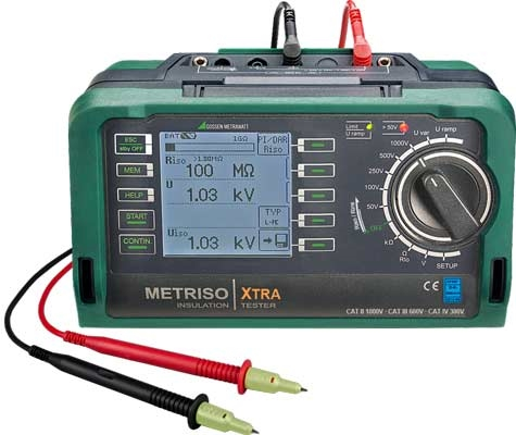 Metriso XTRA Isolatieweerstandsmeter 1000V