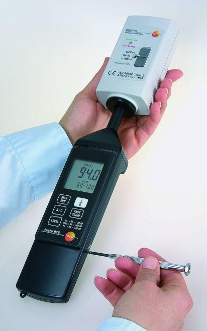 Testo 815 - Meetinstrument voor geluid
